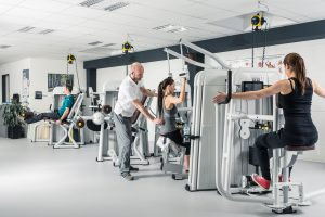 TK-Rücken Plus @ Gymnastikraum des ZST Zentrum für Sporttherapie